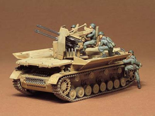 Tamiya 1/35 Flakpanzer Mobelwagen - Model Kit