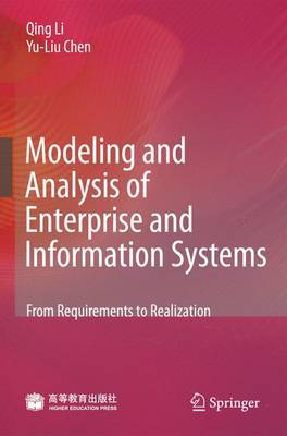 Modeling and Analysis of Enterprise and Information Systems by Qing Li image