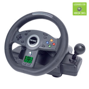 Joytech Nitro Racing Wheel for Xbox 360 image