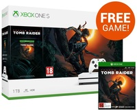 Xbox One S 1TB Shadow of the Tomb Raider Console Bundle for Xbox One