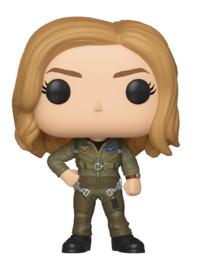 Captain Marvel - Carol Danvers (Flight Suit) Pop! Vinyl Figure image