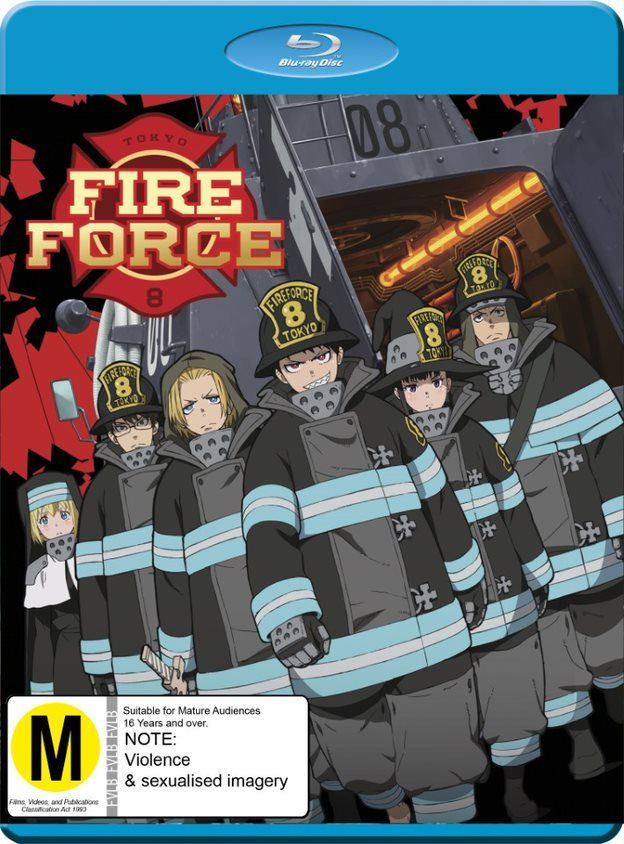 Fire Force: Season 1 - Part 1 on Blu-ray image