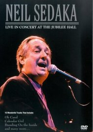 Neil Sedaka: Live in Concert at the Jubilee Hall on DVD