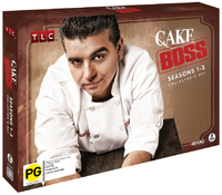 Cake Boss Collector's Set on DVD image