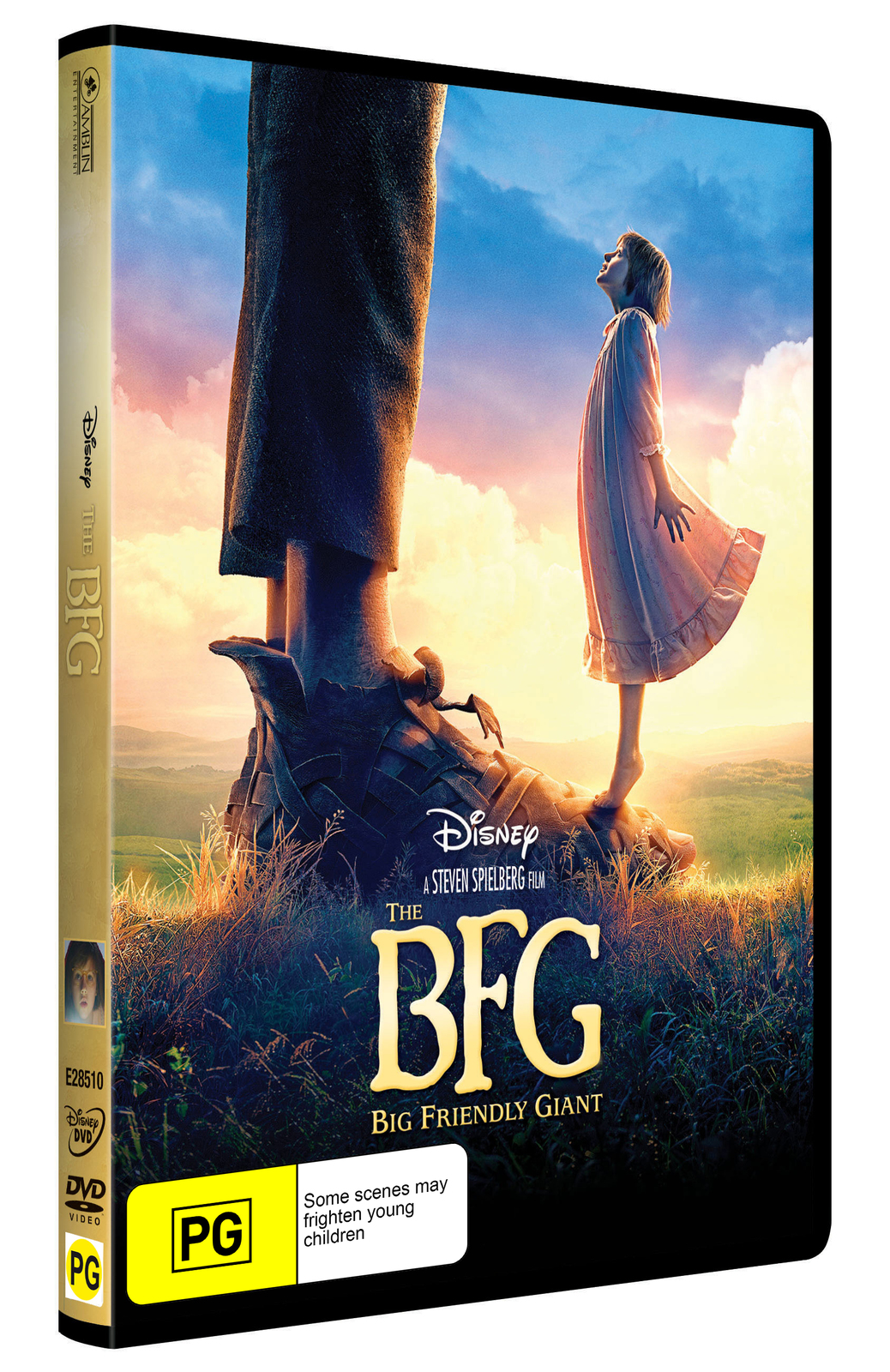 The BFG on DVD image