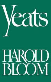 Yeats by Harold Bloom image