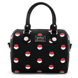 Loungefly Pokemon Pokeball Print Duffle Bag