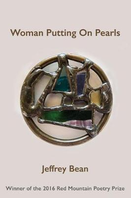 Woman Putting on Pearls by Jeffrey Bean