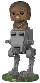 Star Wars - Chewbacca in AT-ST Deluxe Pop!