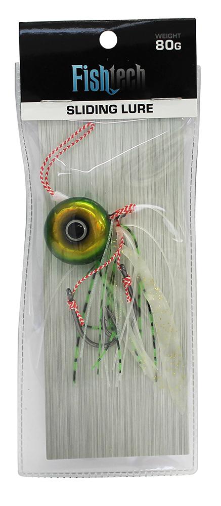 Fishtech 80g Slippery Slider Lure - Green image