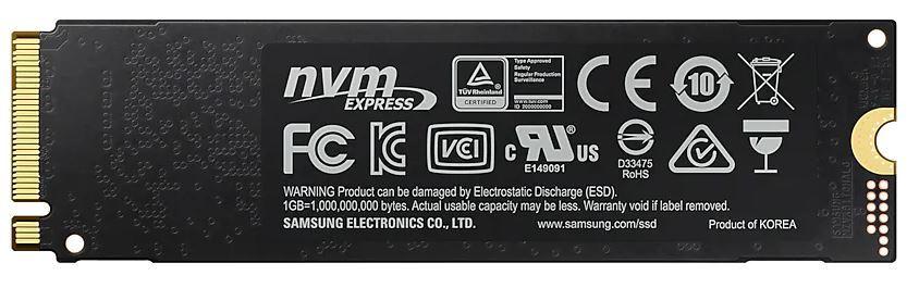 1TB Samsung 970 EVO Plus NVMe M.2 SSD image