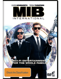 Men In Black: International on DVD image