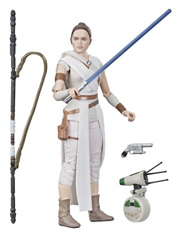 "Star Wars The Black Series: Rey & D-0 - 6"" Action Figure"