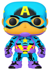 Marvel: Captain America (Black Light) - Pop! Vinyl Figure image