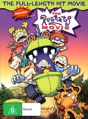 Rugrats - The Movie on DVD