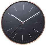 Karlsson Minimal Wall Clock - Black