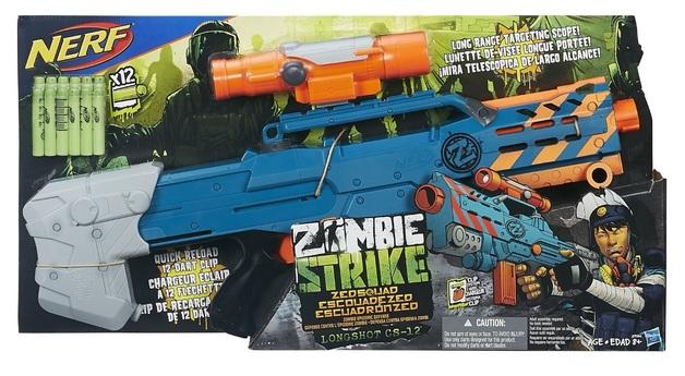 Nerf Zombie Strike: Longshot CS-12 Blaster