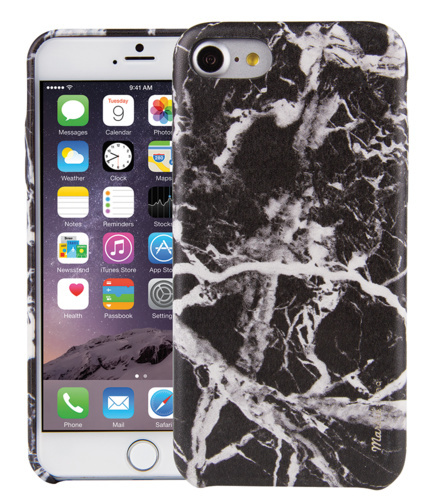 check out a4e2d 2aab9 Uniq Apple iPhone 7 / 8 Marbre - Black | at Mighty Ape NZ