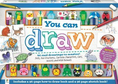 You Can Draw - 24 Piece Art Set