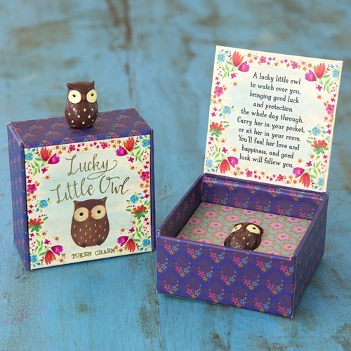 Natural Life: Lucky Charm - Owl