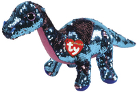 TY Beanie Boo: Flip Tremor Dinosaur - Medium Plush
