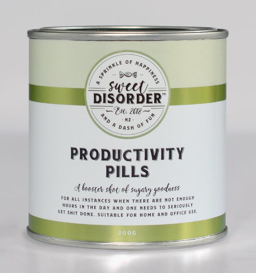 Sweet Disorder: Productivity Pills (185g)
