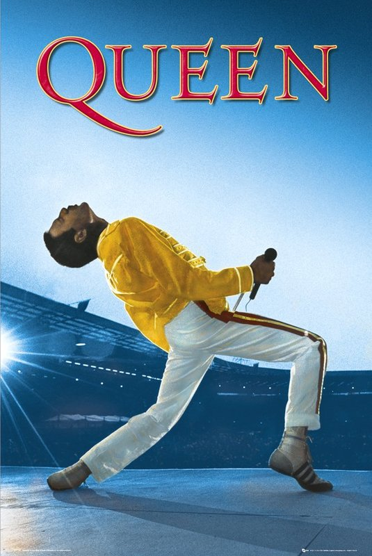 Queen Maxi Poster - Wembly (999)
