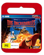 Incredibles 2: Rise Of The Underminer - Toy Case for PC Games