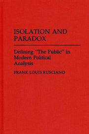 Isolation and Paradox by Frank Rusciano