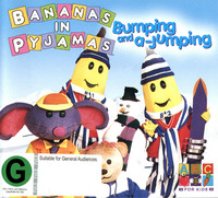 Bananas in Pyjamas - Bumping and a-Jumping on DVD image