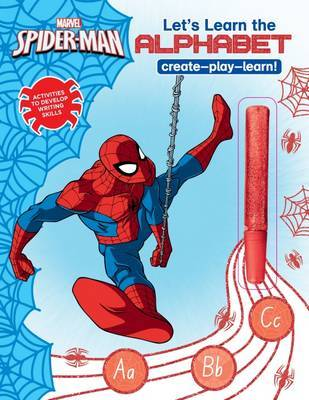 Marvel Learning: Spider-Man: Let's Learn the Alphabet (with Cool Glue Pen)