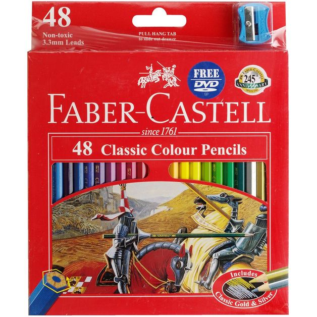 Faber-Castell Classic: Coloured Pencils - 48 Pack
