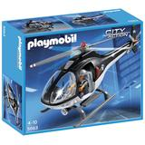 Playmobil - Tactical Unit Helicopter (5563)