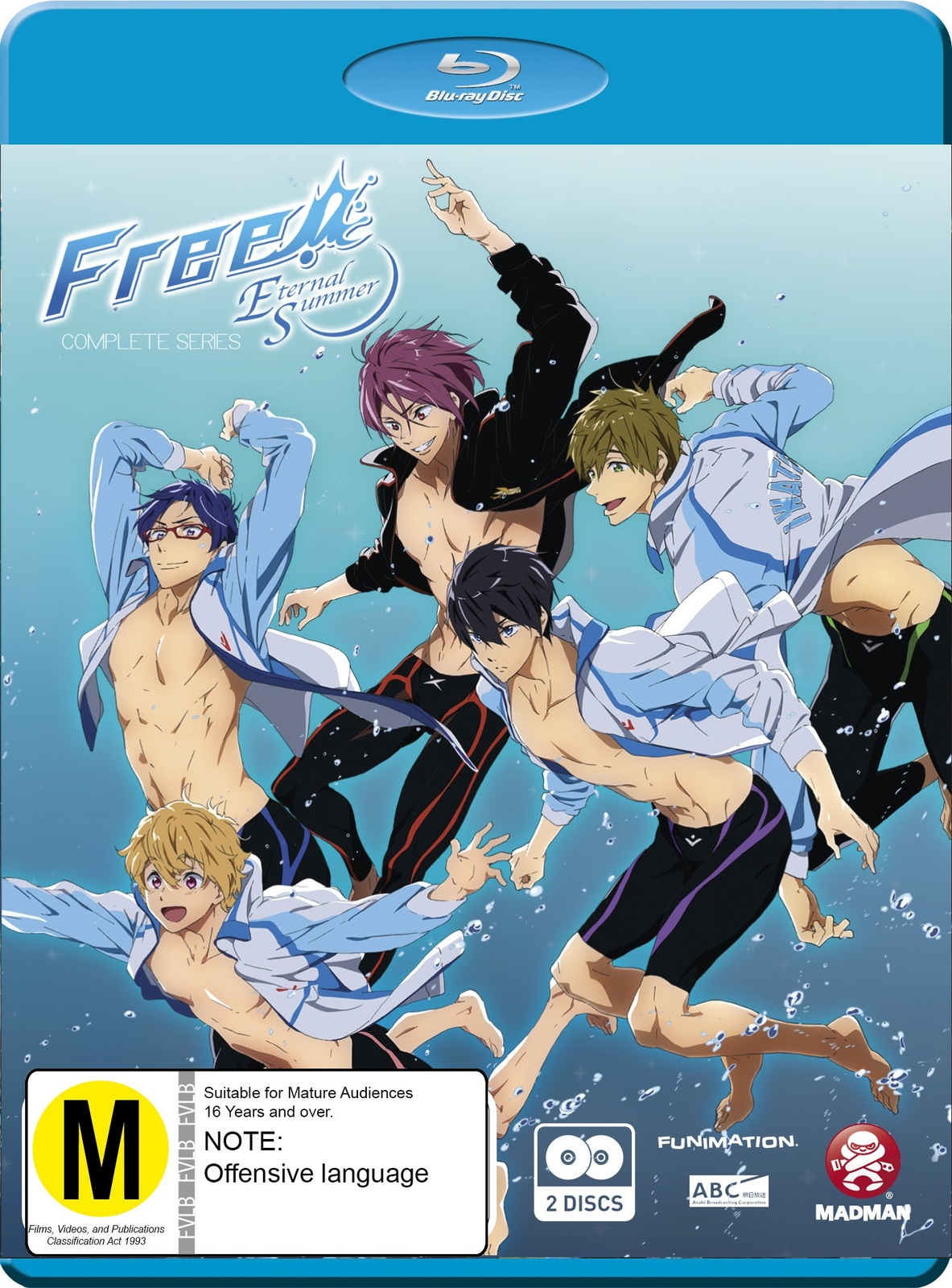 Free!: Eternal Summer - Complete Series 2 + OVA on Blu-ray image