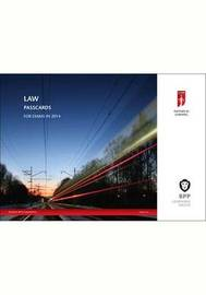 ICAEW Law: Passcards: 2014 by BPP Learning Media