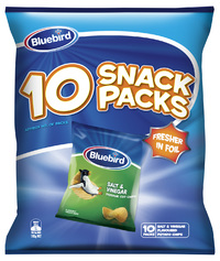 Bluebird Multipack - Salt & Vinegar (10 Pack)