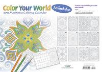 Colour Your World with Mandalas 2017 Desk Planner