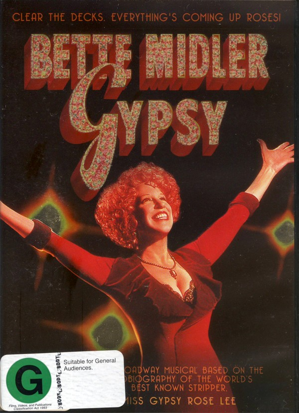 Gypsy on DVD image
