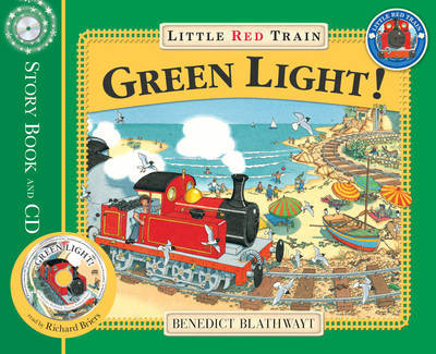 The Little Red Train: Green Light by Benedict Blathwayt image