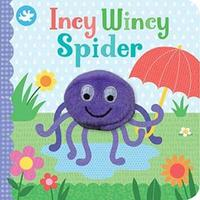 Little Learners Incy Wincy Spider Finger Puppet Book image