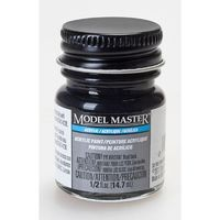 Model Master: Acrylic Paint - Engine Black (Flat)