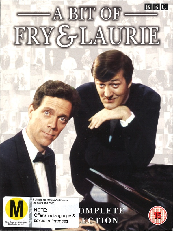 Fry Laurie A Bit Of Complete Collection Series 14 on DVD