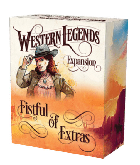 Western Legends: Fistful of Extras - Game Expansion image