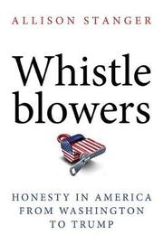 Whistleblowers by Allison Stanger