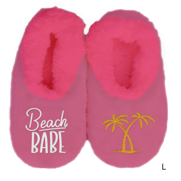 Sploshies: Women's Duo Slippers - Beach (Large)