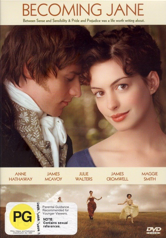 Becoming Jane on DVD
