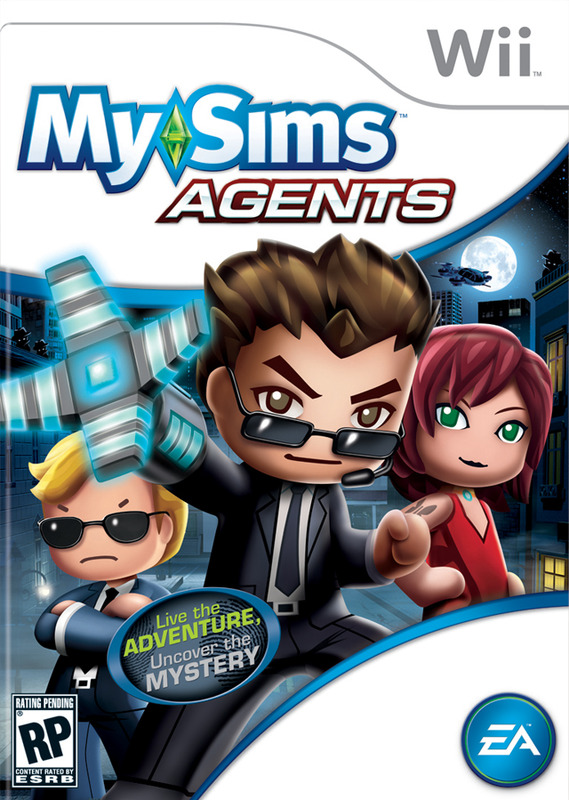 MySims Agents for Nintendo Wii