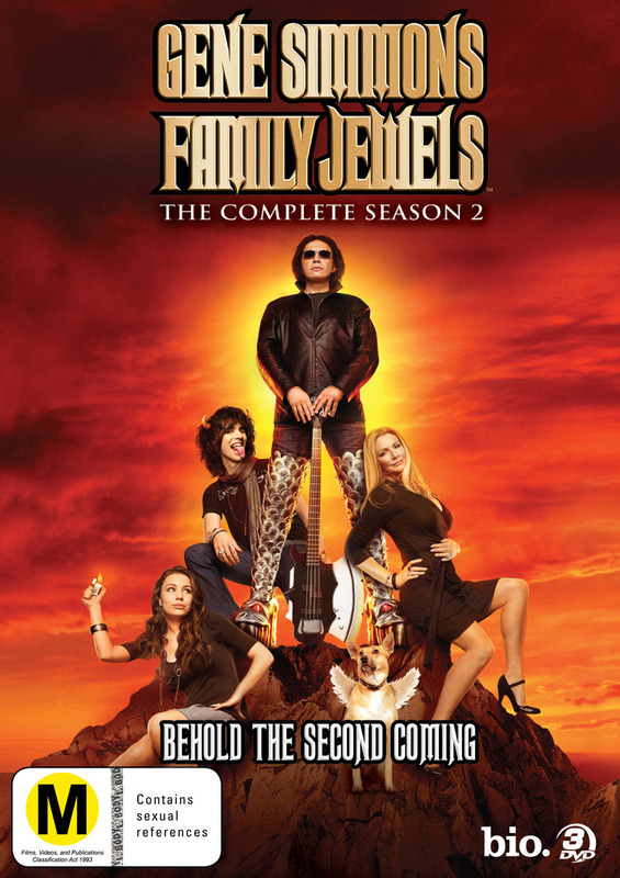 Gene Simmons Family Jewels: The Complete Season 2 (3 Disc Set) on DVD