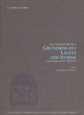 Grundriss Des Laufes Der Sterne by Alexandra von Lieven