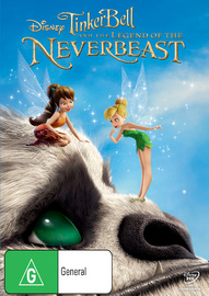 Tinker Bell and the Legend of the NeverBeast on DVD